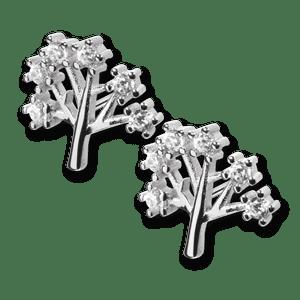 srebrne kolczyki