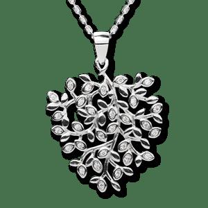 srebrna zawieszka