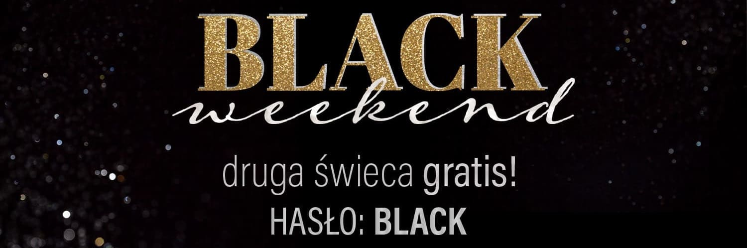 Black Week 2020 - druga świeca Surprise Candle gratis!