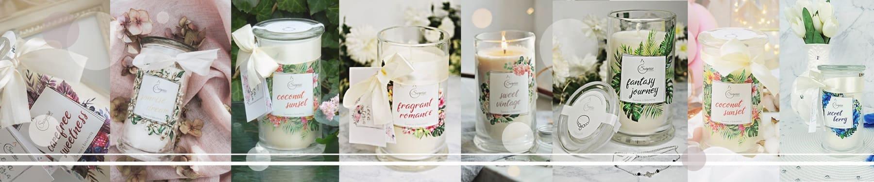 Kolekcja świec zapachowych Surprise Candle
